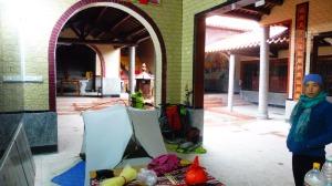 le refuge au temple moderne